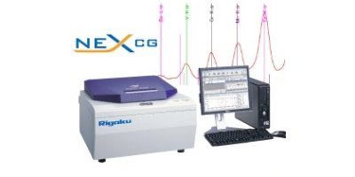 Rigaku - Model NEX CG Series - Energy Dispersive X-ray Fluorescence Spectrometer